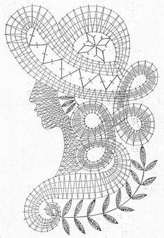 Albumi – Google+ Crochet Diagram, Crochet Chart, Crochet Motif, Crochet Lace, Free Crochet, Crochet Patterns, Russian Crochet, Irish Crochet, Bruges Lace