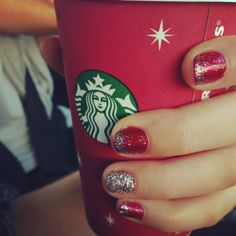 Last years holiday nails