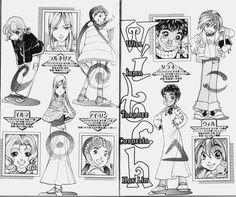 animega: Disney Manga - W.I.T.C.H