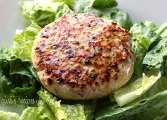 Swordfish Burgers with Lemon Vinaigrette - you can make and have these ready in less than 20 minutes!