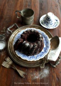 Chocolate Grand Marnier Bundt Cake