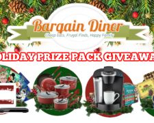 Win Holiday Prize Packs with Keurigs and More!