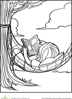 Math and Reading Doodle Coloring Pages Math Teaching