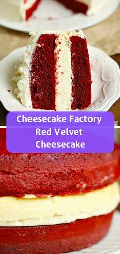 Cheesecake Factory Red Velvet Cheesecake Cake Copycat Cocinando con Alena: 20 Best Cheesecake Recipes You Must Try Jessi melekun Cake & Dessert Cheesecake Factory Red Velvet Cheesecake Cake Copycat The Cheesecake Factory, Cheesecake Aux Snickers, Red Velvet Cheesecake Cake, Peanut Butter Cup Cheesecake, No Bake Lemon Cheesecake, Chocolate Raspberry Cheesecake, Easy Cheesecake Recipes, Dessert Recipes, Cheesecake Desserts