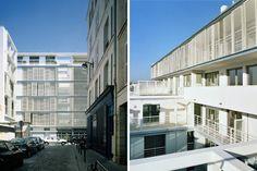 PARIS XVIII RUE CAPRON // 108 Logements - Opus 5 Architectes