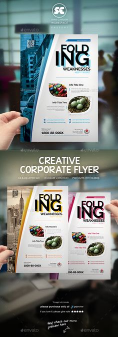 Business Flyer / Magazine Ads - Corporate Flyers