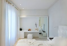 Modern White Home Interior Design Hotel Interiors Bedrooms Decor