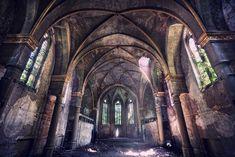 Abandoned church, Germany