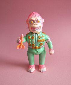 """Iru Iru """"Neo Gorilla"""" (Grumble Toys Exclusive)"""