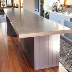 Indoor and outdoor concrete kitchen benchtops, concrete vanity tops, concrete table tops and much more. Concrete Table Top, Concrete Kitchen, Concrete Countertops, Kitchen Benchtops, Concrete Design, Dining Table, Indoor, House, Island