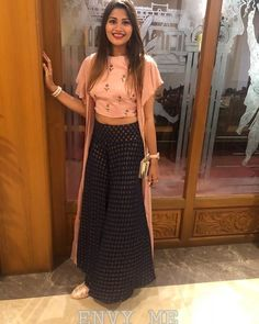 Image may contain: 1 person Designer Party Wear Dresses, Kurti Designs Party Wear, Lehenga Designs, Indian Designer Outfits, Indian Outfits, Fancy Blouse Designs, Designs For Dresses, Stylish Dresses, Fashion Dresses