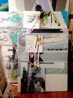 Nahlížíme do Ateliérů: Jakub Švéda Online Galerie, Polaroid Film, Contemporary, Artist, Atelier, Artists