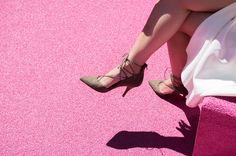Pink Field | www.allureofsimplicity.com