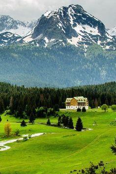 Mountain Village, Zabijak, Montenegro