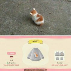 Animal Crossing Funny, Animal Crossing Guide, Animal Crossing Qr Codes Clothes, Hamsters, Anime Animals, Cute Animals, Motif Acnl, Motifs Animal, New Leaf