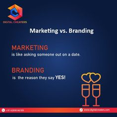 Do you relate to this concept of marketing and branding? For more information and services related to Digital Marketing and Search Engine Optimization contact us : Contact: +916269066189. Have a great day ahead! #marketing #branding #dating #marketingdigital #strategy #marketingworld #onlineworld #growyourbusiness #digitalmarketing #marketingservices #digitalcreaters #DC #SMM #socialmediamarketing #onlinebusiness #services #onlinemarketing #SEO #digitalworld Best Marketing Companies, Best Digital Marketing Company, Digital Marketing Services, Online Marketing, Social Media Marketing, Marketing Poster, Marketing Branding, Business Website, Online Business