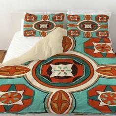 Tuscan Tile 4 Duvet Cover