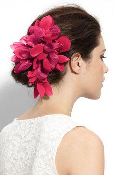 Cara Accessories 'Tropical Flower' Hair Clip