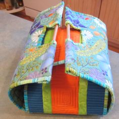 Color Me Quilty: Ready to be Stylin' My Next Pot Luck