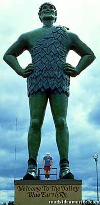 Jolly Green Giant, Blue Earth