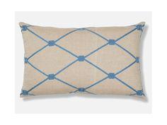 Poduszka Melrose beżowo-niebieska od LaForma AA0310J26 kupisz na sfmeble.pl