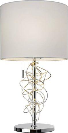 Nexus Tischleuchte Chrom nordlux Tischlampe Lampe Licht Beleuchtung Schreibtisch