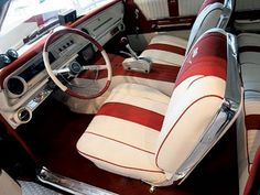 1965 CHEVROLET IMPALA SS AMERICAN MUSCLE CAR INTERIOR