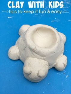 Tips for playing with clay -- setting kids up for success with their projects!  #PotteryCool /spin_master/