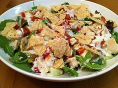 BBQ Flavored Ranch Salad with Chicken .. More Images @ http://regulatoryandfoodsafety.food-business-review.com/news/taylor-farms-pacific-recalls-bbq-flavored-ranch-salad-with-chicken-in-us-130613
