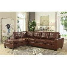 Muttontown Reversible Chaise Sectional