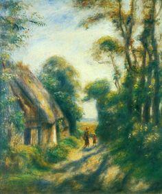 The Athenaeum - Near Berneval (Pierre Auguste Renoir - )