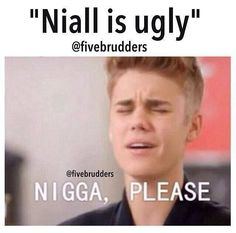 HAHAHHAHAHA! Niall is freaking beautiful. My little irish snowflake. XD