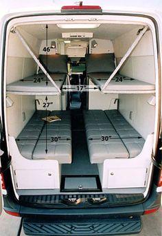 Camper Van Conversions DIY 24