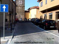 Segnaletica Stradale Triestina: segnaletica orizzontale e verticale - cartello senso unico e parcheggi