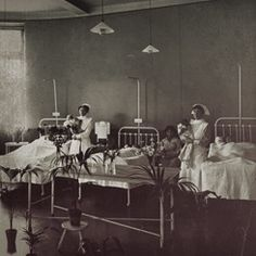 1866 - First maternity hospital in NSW set up at Benevolent Asylum.