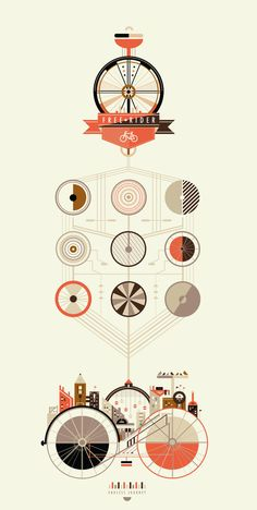 Graphic design, infographic, style, colours palette, simple illustrations - inspiration.