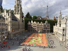 De paseo en Mini Europa, Bruselas