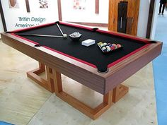 PB Pool Table, Gray Finish With Camel Felt And Table Tennis Cover ...