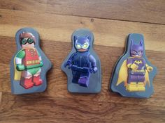For sale! Lot of 3 McDonalds LEGO Batman Happy Meal Toys with Puzzle & Stickers #Lego #toys #kids #family #movie