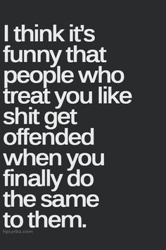 Impolite as the language might be, it's very true...and I'm not sure I could've said it better.