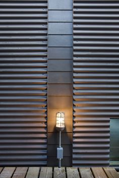 Corrugated Facade