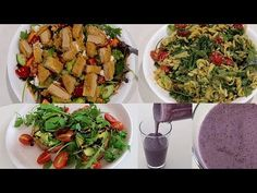(16) 4 EASY VEGAN RECIPES | I can't cook but here goes :D | Lauren Curtis - YouTube