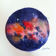 Nebula watercolor