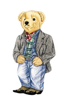Vote for your favorite Polo Bear at RLVintage.com and the winner will go into production on a Ralph Lauren sweater.