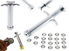 Stainless Steel Extruder Craft Tool Set for sale on Trade Me, New Zealand's auction and classifieds website Tool Set, Stainless Steel, Crafts, House, Manualidades, Haus, Handmade Crafts, Diy Crafts, Craft