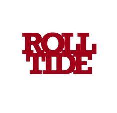 Alabama Roll Tide instant download cut file  SVG by bibberberry
