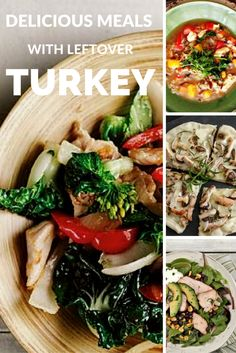 "Planning for leftovers helps you get a nourishing meal on the table quickly.  Shannon Crocker, RD has a go-to time saving trick: ""I like to grill a whole turkey on the barbeque for a weekend dinner (it's easier than you think!) and then use leftovers for stir fry, pizza or soup during a busy week. Honestly, who doesn't love turkey soup?""  Visit canadianturkey.ca to find recipes for delicious meals using leftover turkey!"