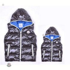 Big Discount Moncler Mens Vests Fashion Hooded Style In Black Online http://www.cheapmoncleroutlet2014.com
