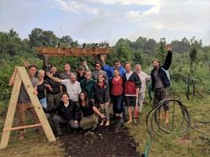 Our 2019 PDC class at Bending Oak, near Youngstown, OH. Permaculture Design Course, Project Site, Co Design, Bending