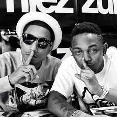 Pharrel and Kendrick